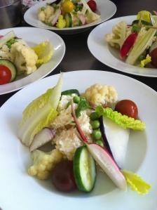 Kold fløderisotto med sprøde grønsager Foto Katrine Klinken, juli 2013