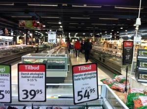 Der spises meget kød herhjemme og mere end 60% er hakket og det meste bliver købt i supermarkeder Foto: Klinken